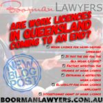 Are Work Licences in Queensland Coming to an End?